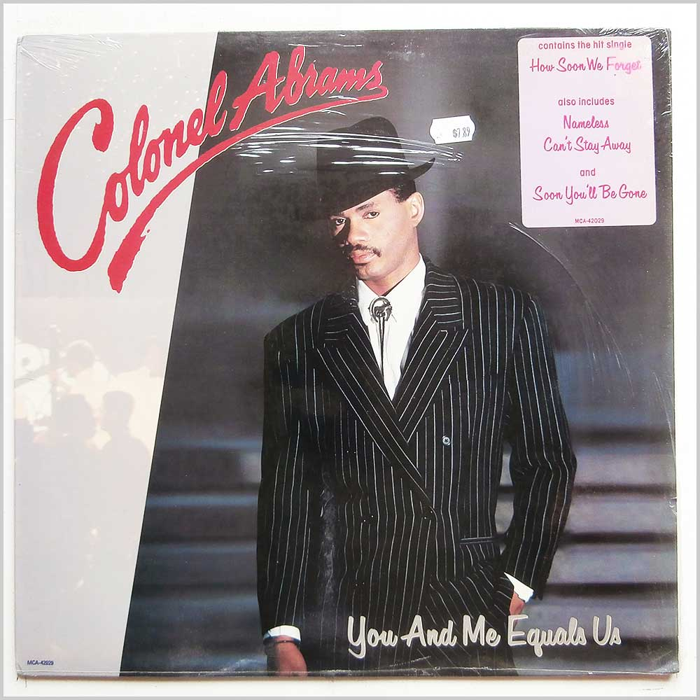 Colonel Abrams - You and Me Equals Us (MCA-42029)