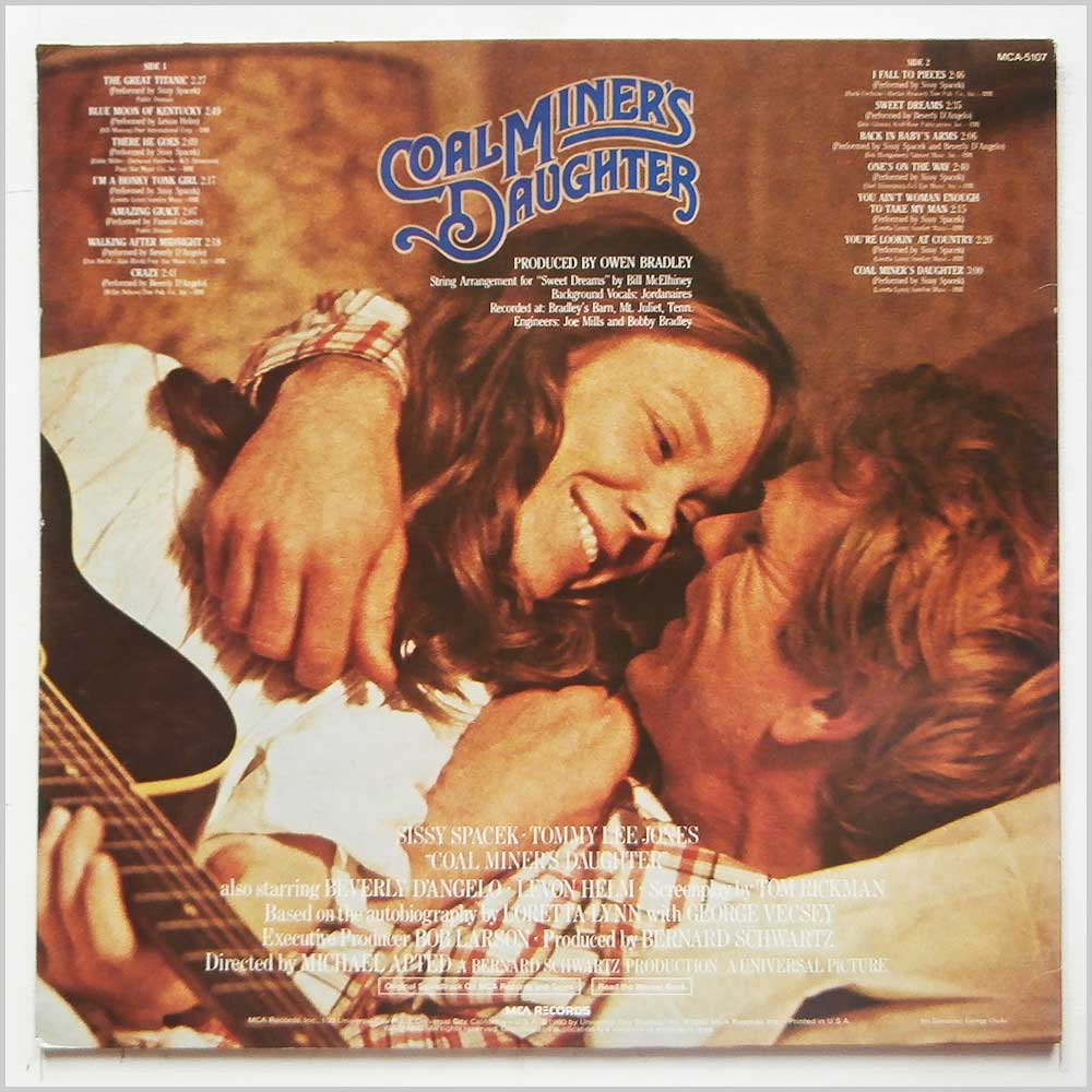 Various - Coal Miner's Daughter: Original Motion Picture Soundtrack (MCA-5107)