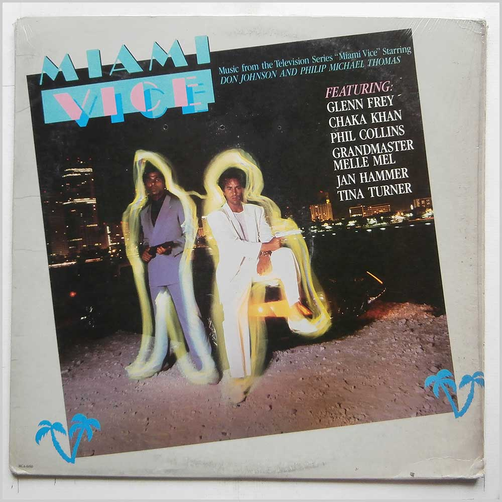 Various - Miami Vice: Music From The Television Series (MCA-6150)