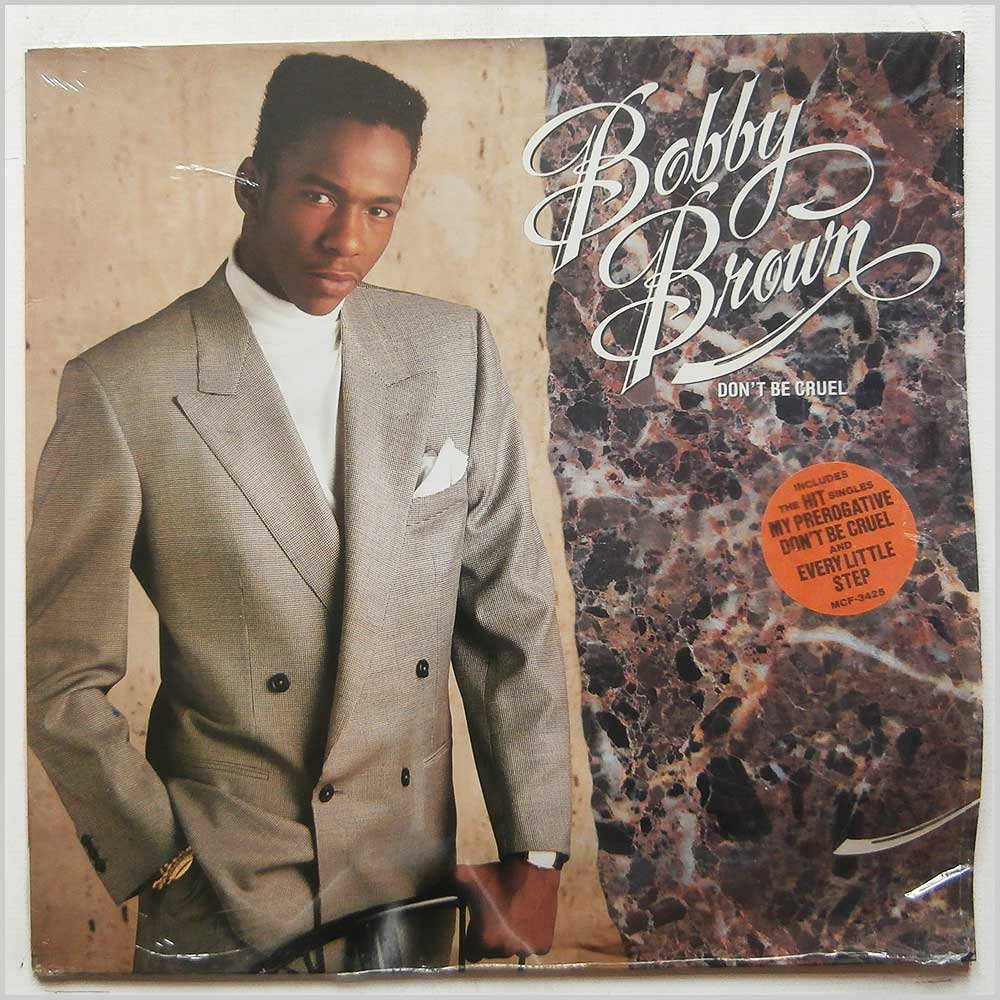 BOBBY BROWN - Don't Be Cruel - 33T