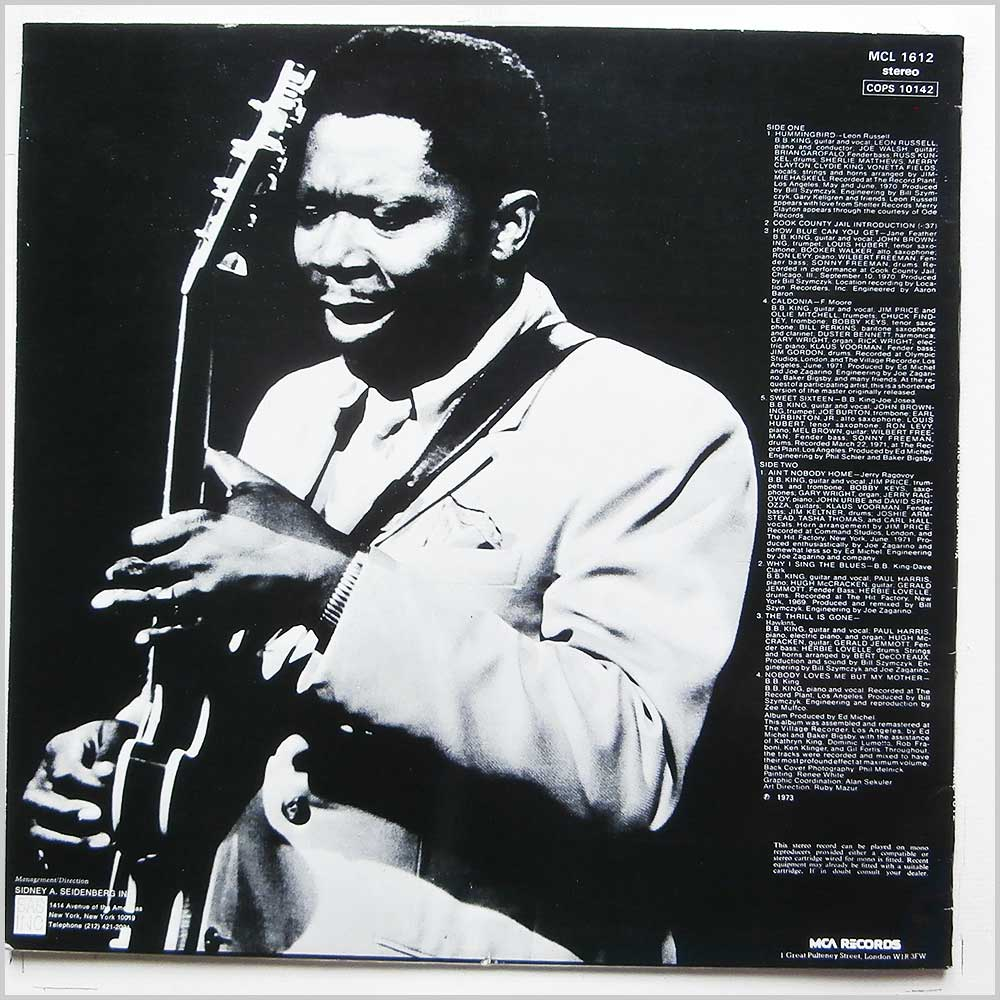 B. B. King - The Best Of B. B. King (MCL 1612)