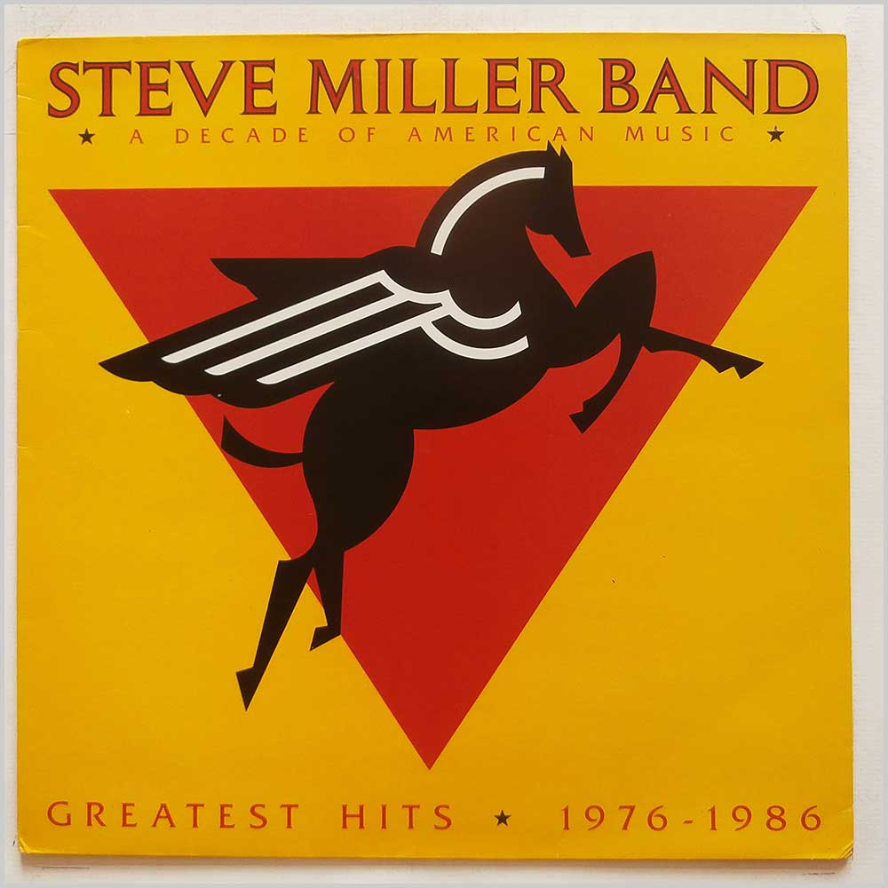 Steve Miller Band - A Decade Of American Music: Greatest Hits 1976-1986 (MERH 105)