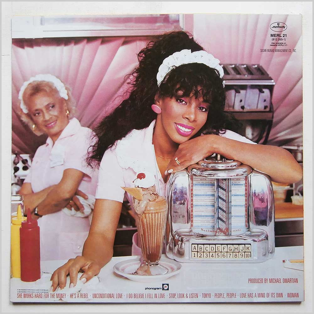 Donna Summer - She Works Hard For The Money (MERL 21)