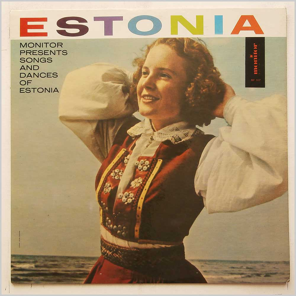 Estonian Theater Orchestra, Estonian Radio Chorus - Estonian Songs And Dances (MF 317)