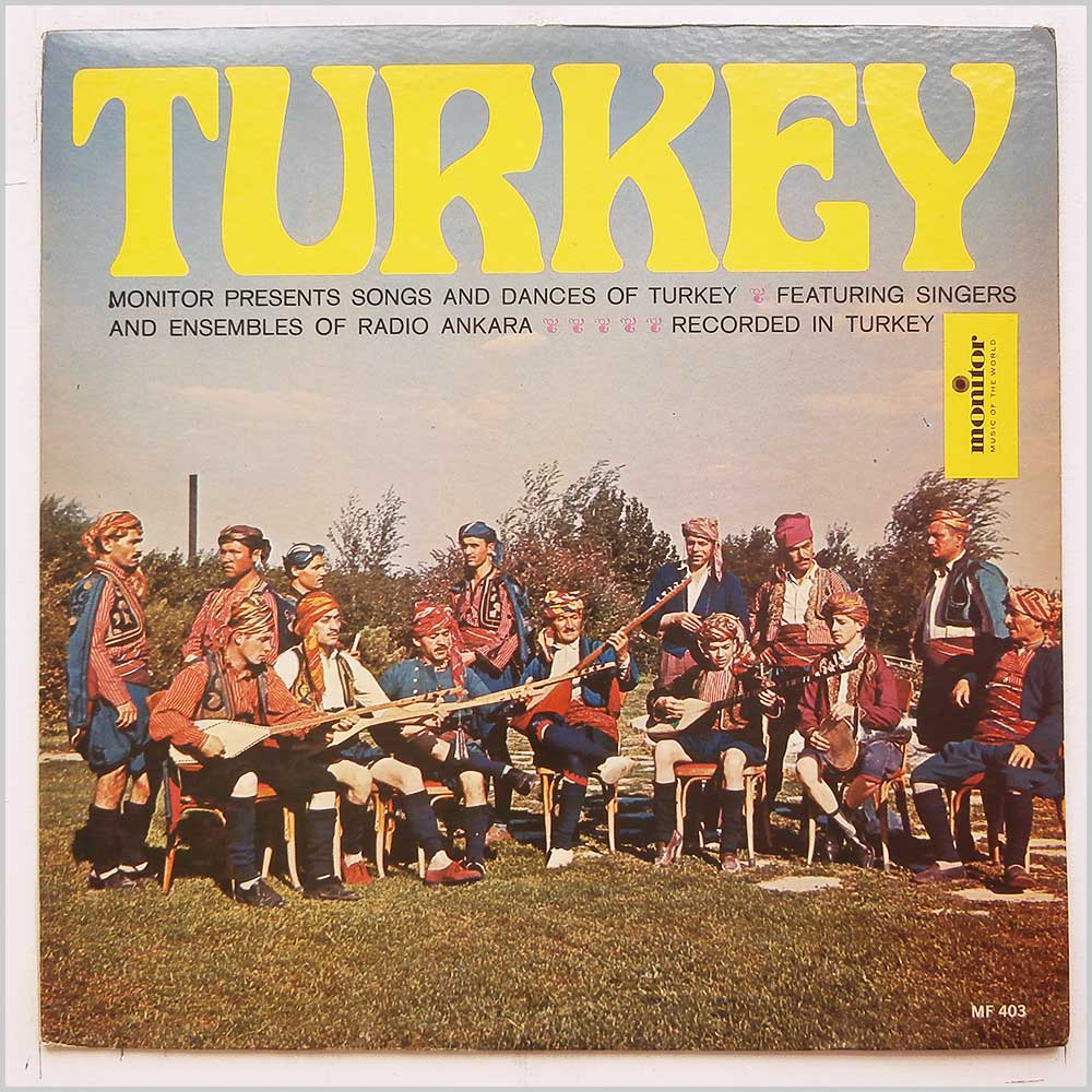 Ensembles Of Radio Ankara - Songs And Dances Of Turkey (MF 403)