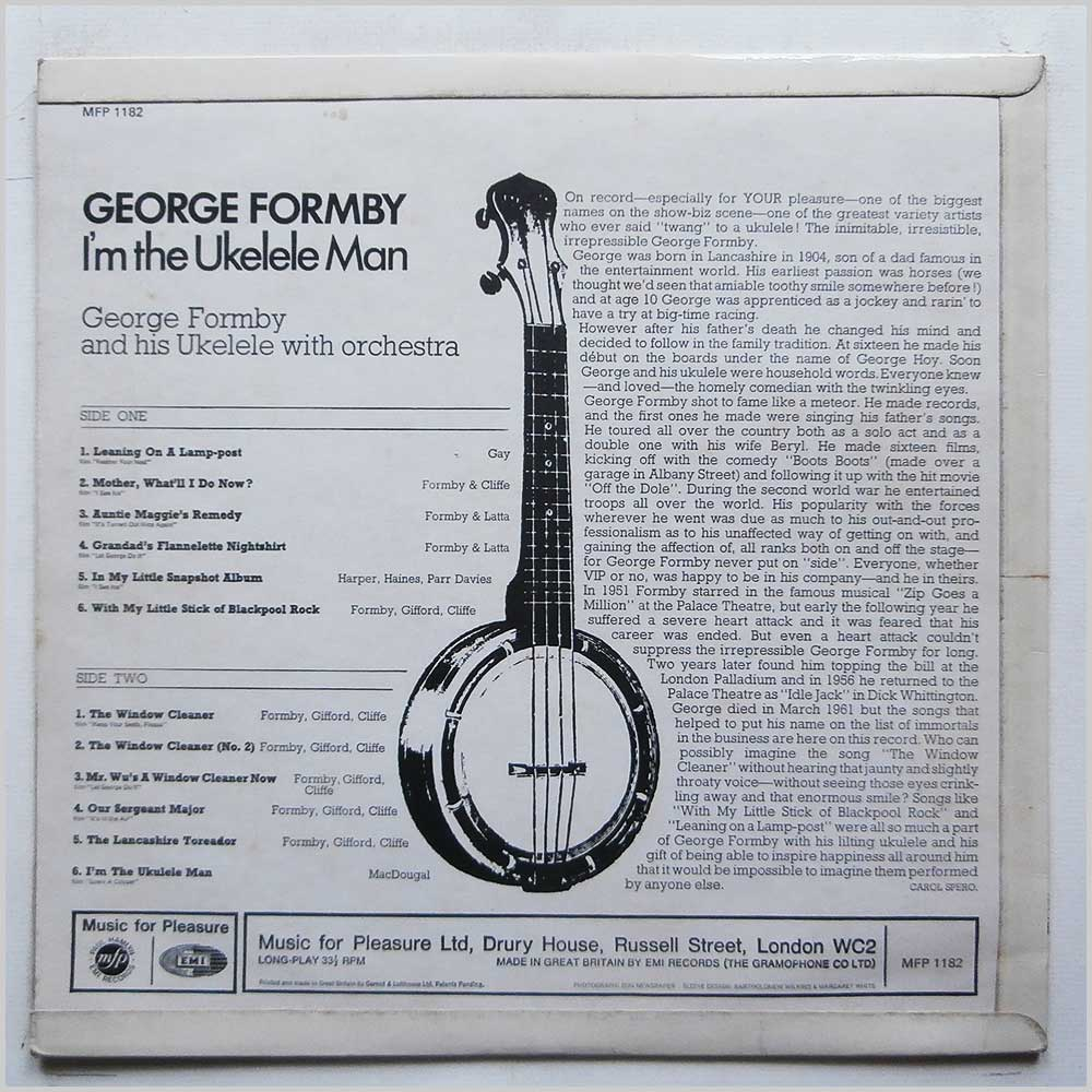 George Formby - The Inimitable George Formby (MFP 1182)