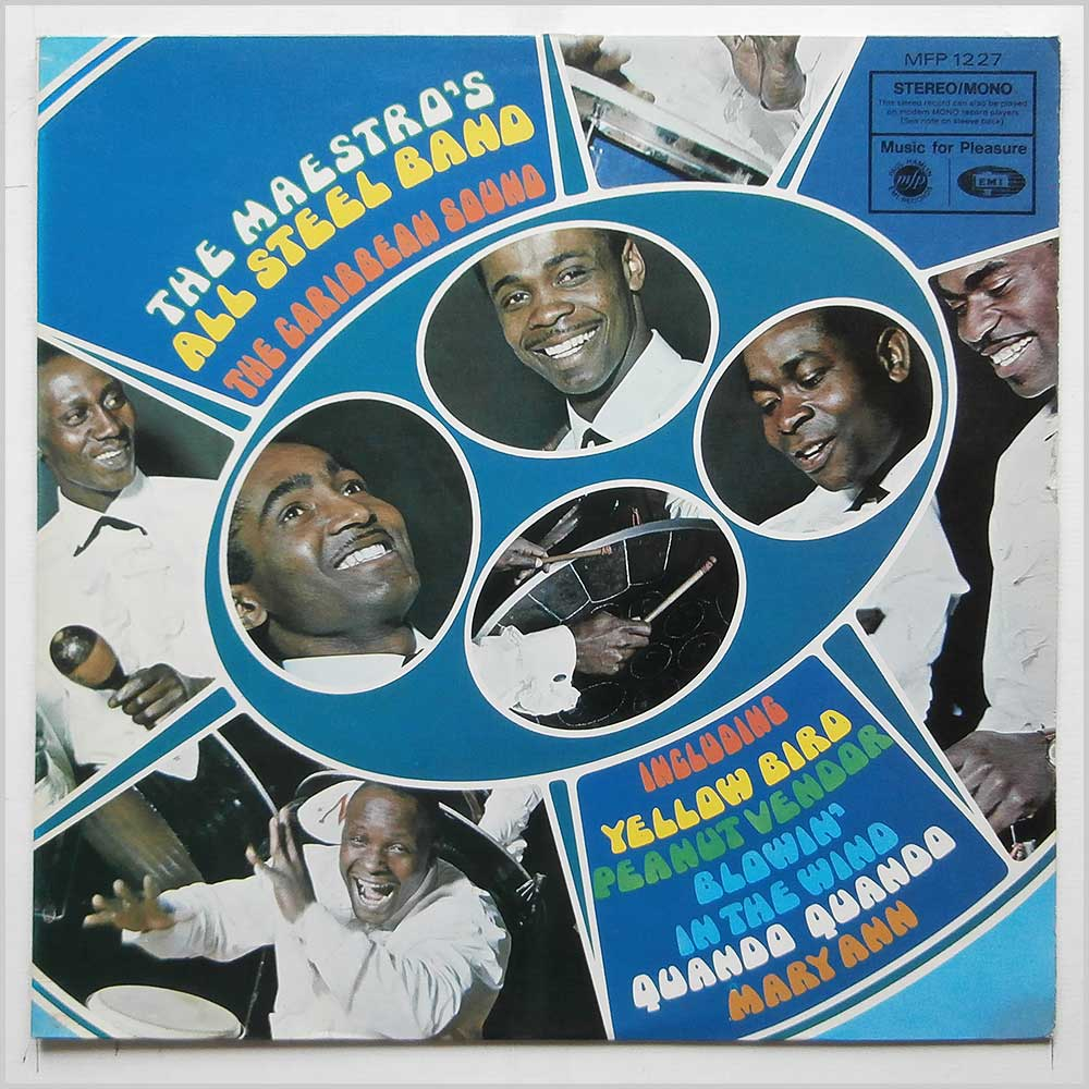 Maestro's All Steel Band - The Caribbean Sound (MFP 1227)