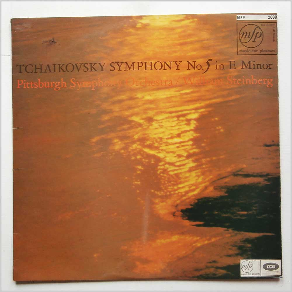 William Steinberg, Pittsburgh Symphony Orchestra - Tchaikovsky: Symphony No.5 in E Minor (MFP 2008)