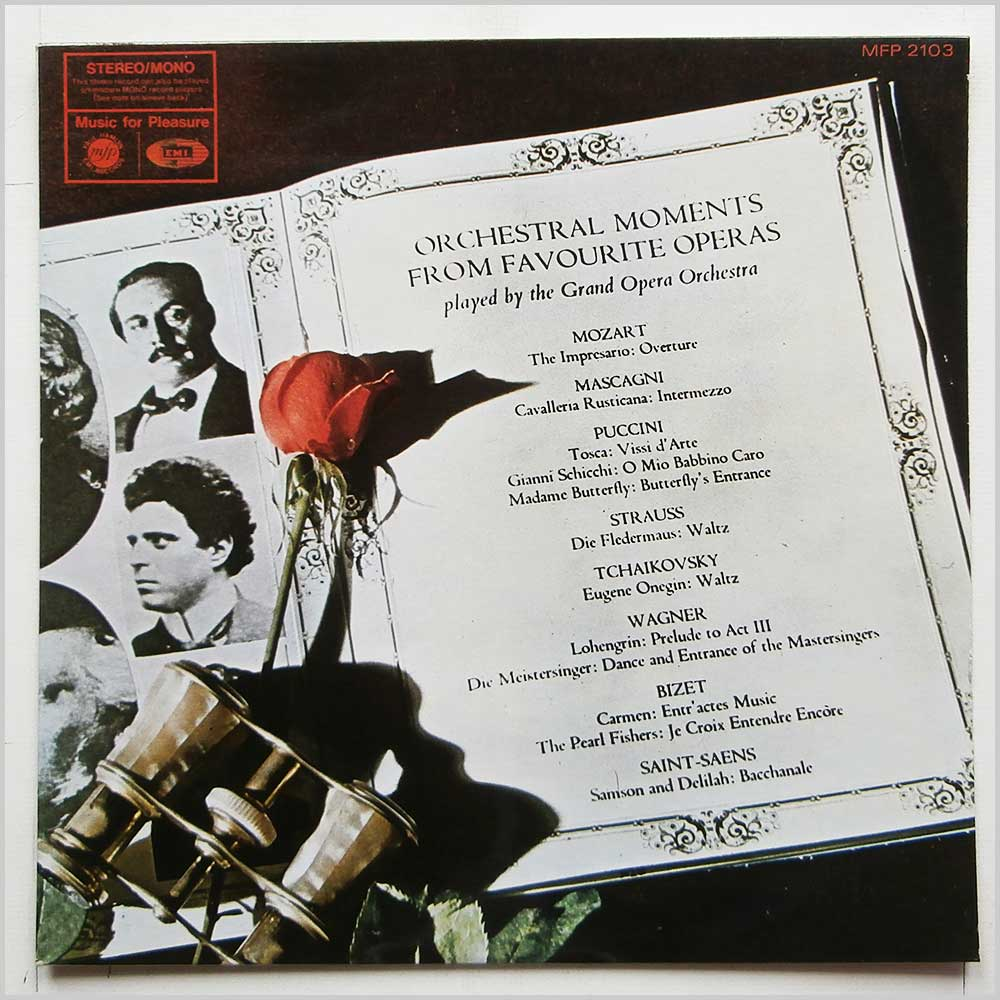 The Grand Opera Orchestra - Orchestral Moments From Favourite Operas (MFP 2103)