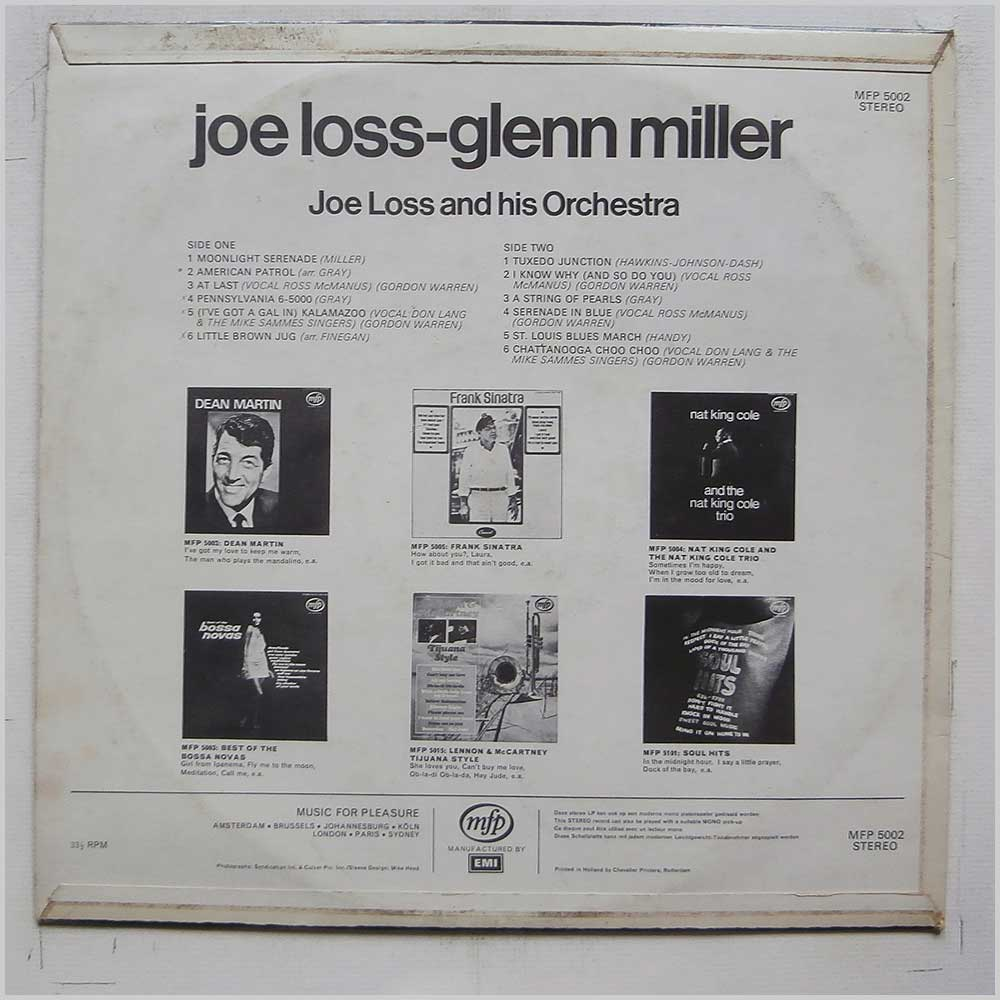 Joe Loss and His Orchestra - Joe Loss-Glenn Miller (MFP 5002)
