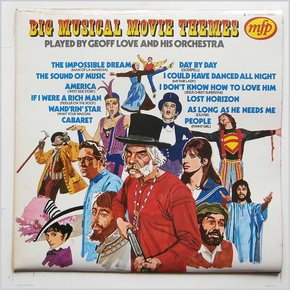 Geoff Love and His Orchestra - Big Musical Movie Themes (MFP 50059)