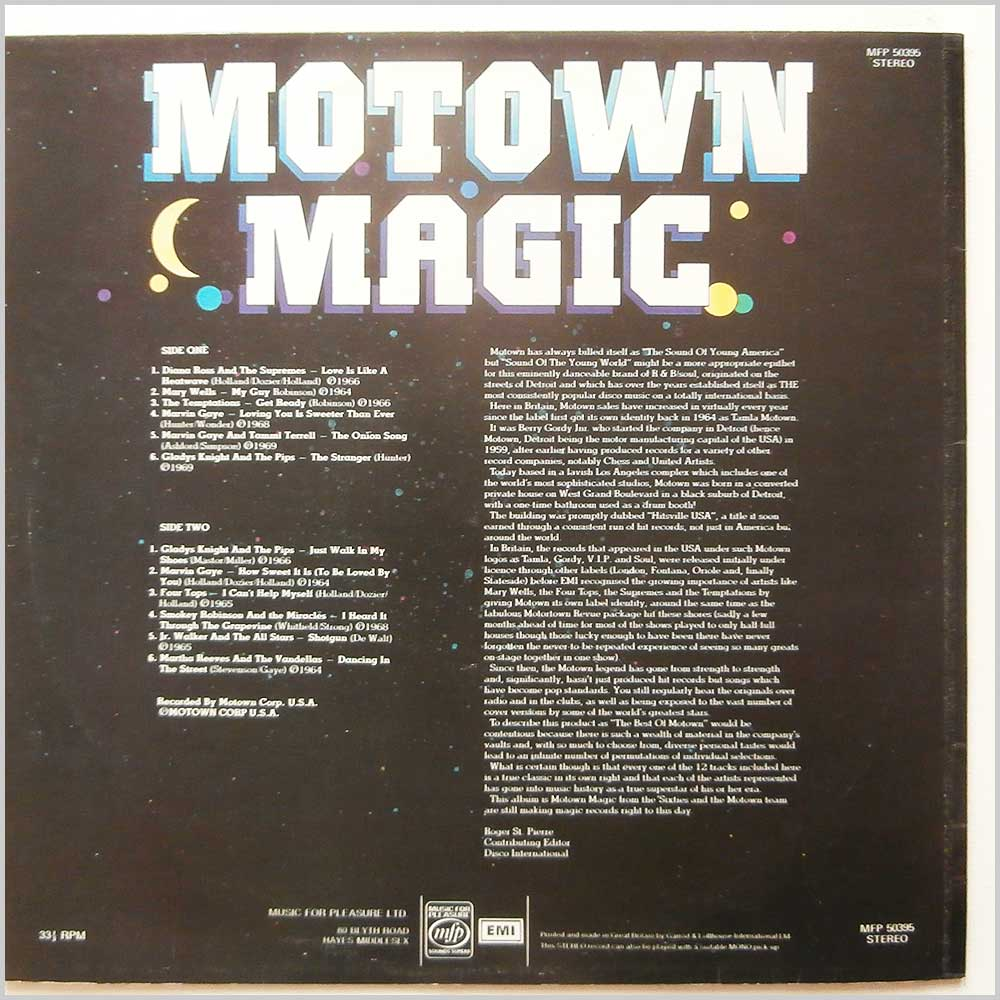 Various - Motown Magic (MFP 50395)