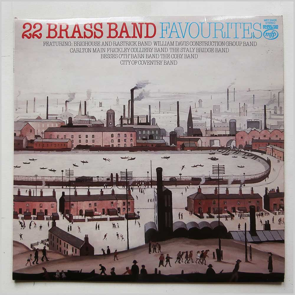 Various - 22 Brass Band Favourites (MFP 50430)
