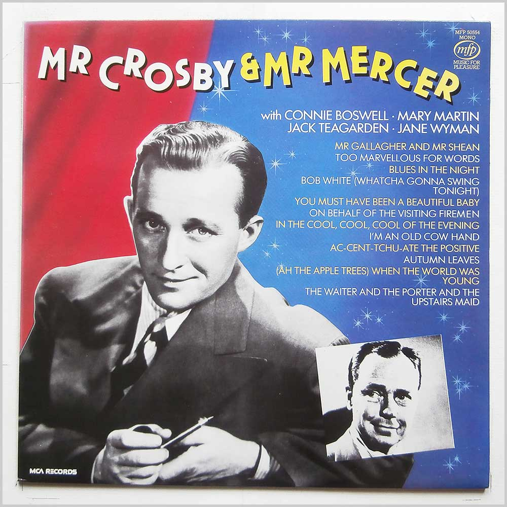 Bing Crosby - Mr Crosby and Mr Mercer (MFP 50554)