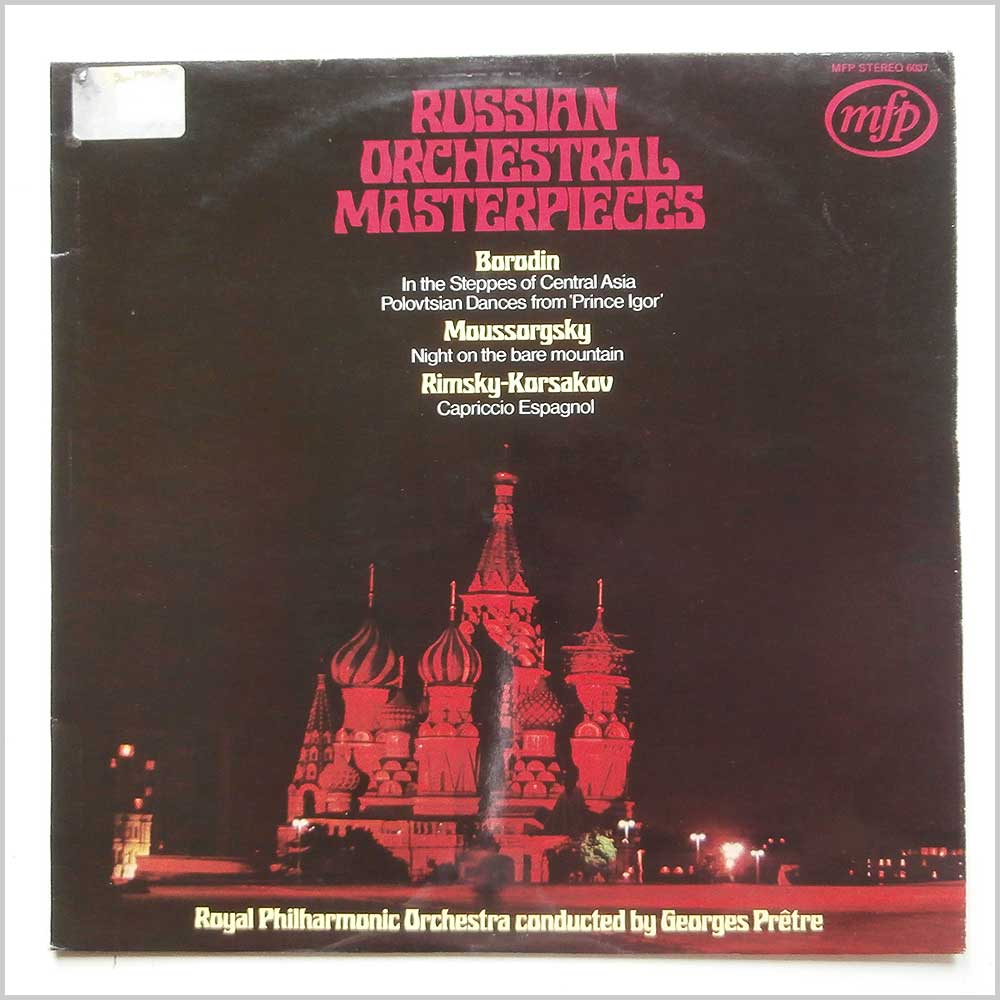 Georges Pretre, Royal Philharmonic Orchestra - Russian Orchestral Masterpieces (MFP 6037)