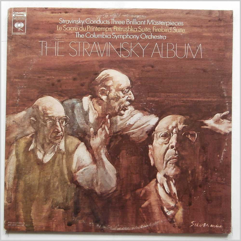 The Columbia Symphony Orchestra - The Stravinsky Album (MG 31202)