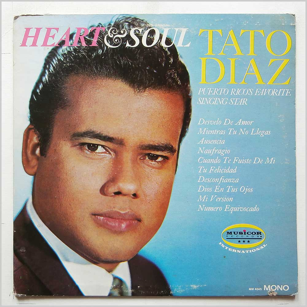 Tato Diaz - Heart And Soul (MM-4045)