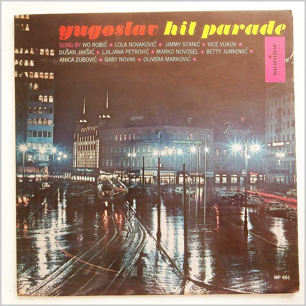 Various - Yugoslav Hit Parade (MP 601)