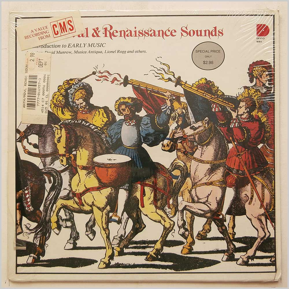 David Munrow, Musica Antiqua - Mediaeval and Renaissance Sounds (MR-1)
