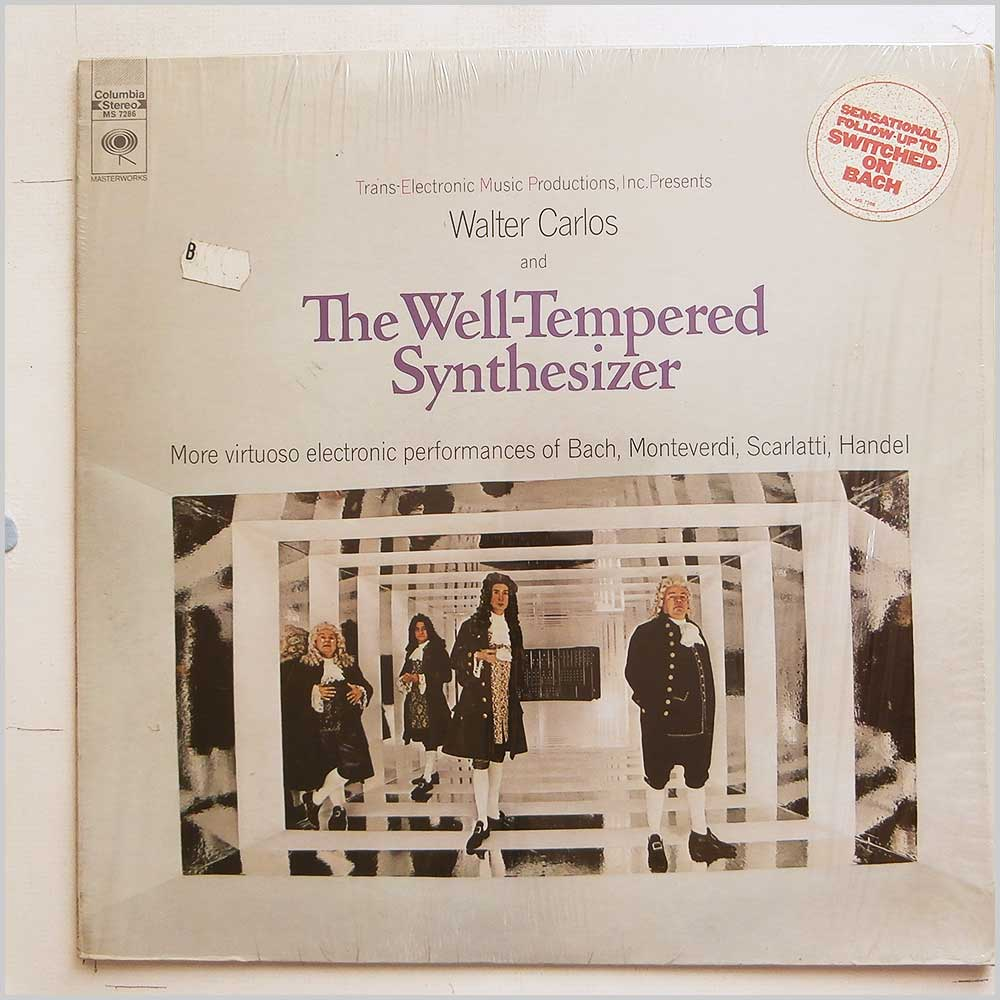 Walter Carlos - The Well-Tempered Synthesizer (MS 7286)