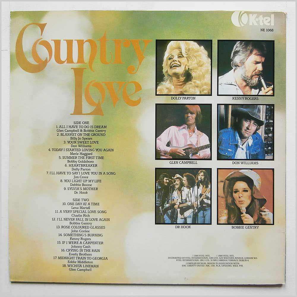 Various - Country Love (NE 1068)