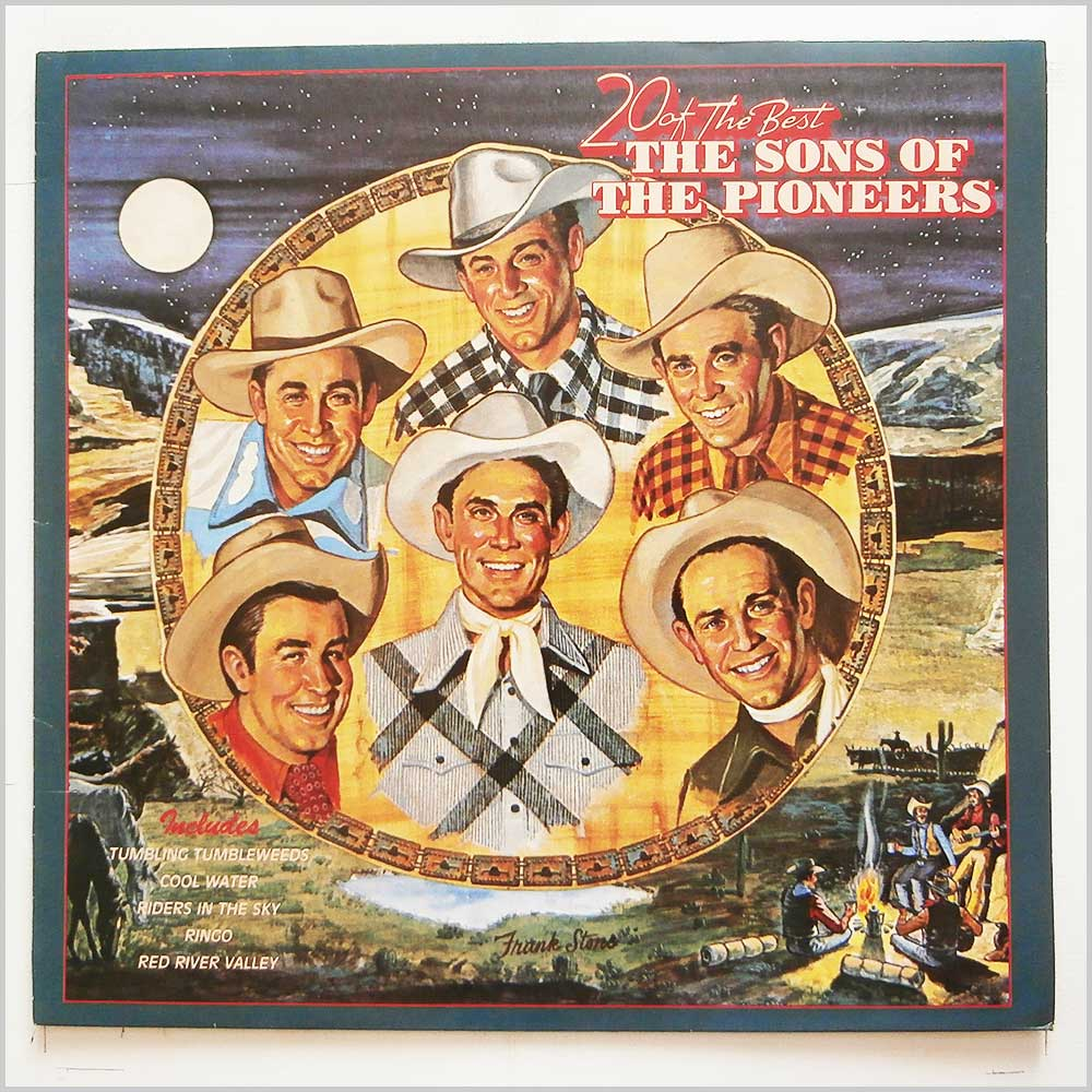 Various - 20 Of The Best: The Sons Of The Pioneers (NL 89525)