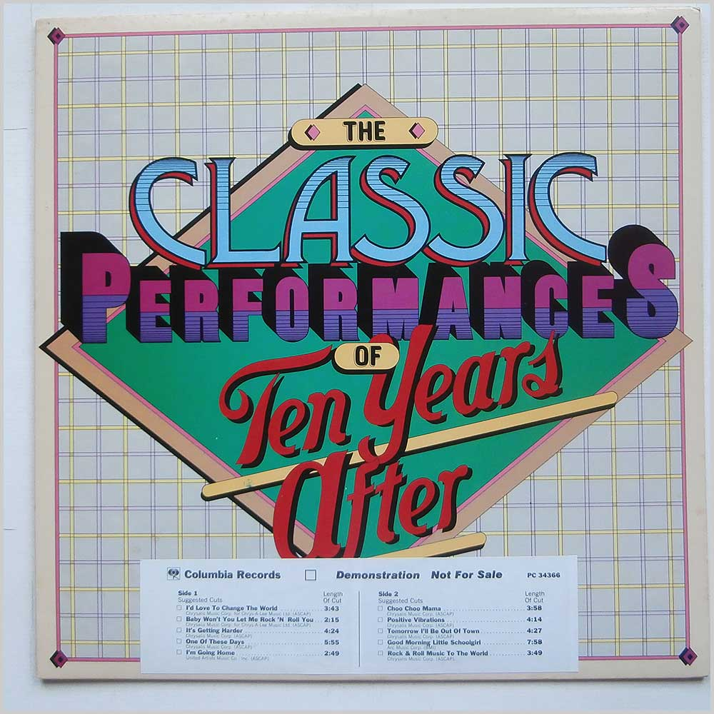Ten Years After - The Classic Performances Of Ten Years After (PC 34366)