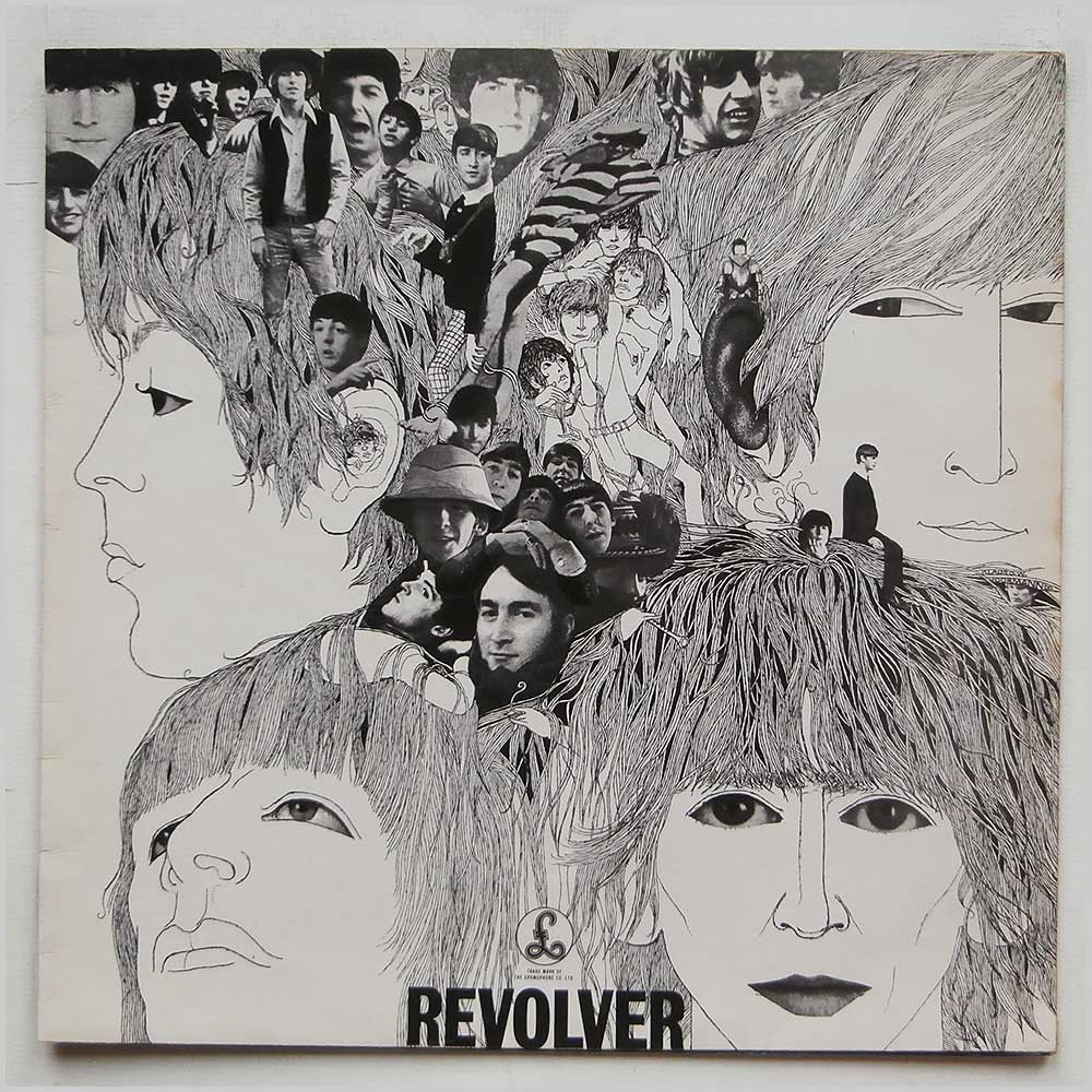 Beatles - Revolver - rare music LP records for sale