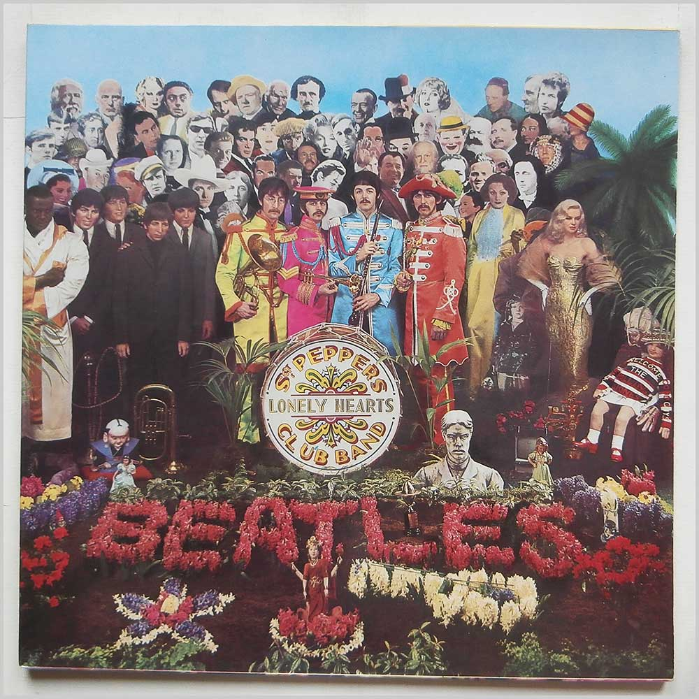 The Beatles - Sgt. Peppers Lonely Hearts Club Band (PCS 7027)