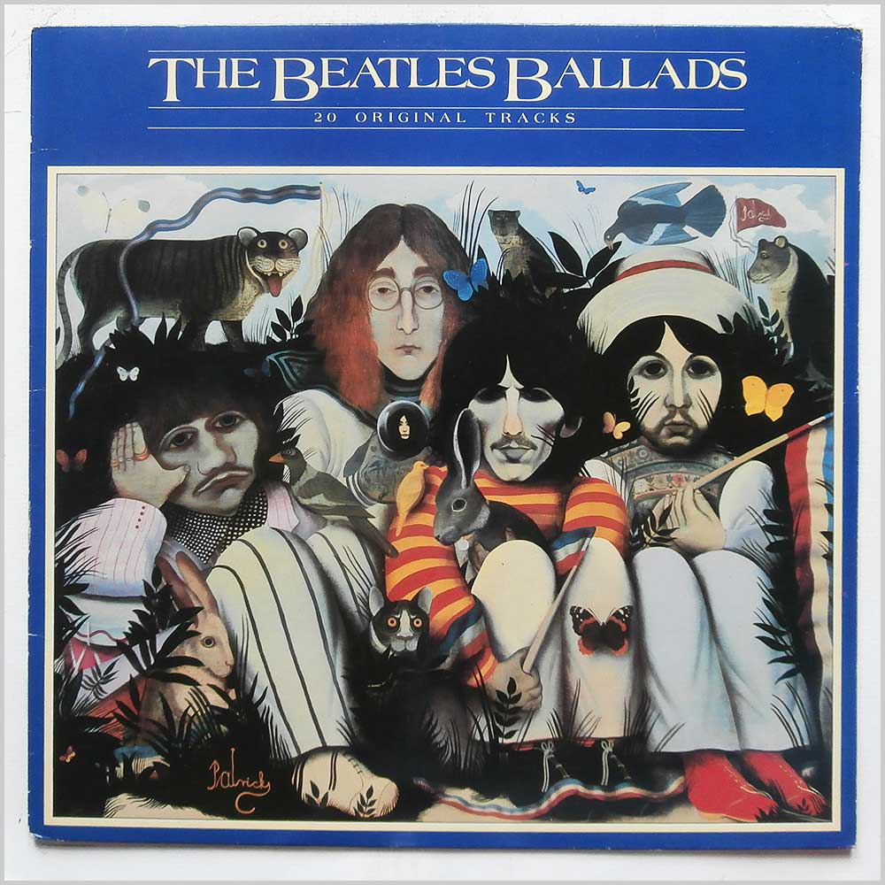 The Beatles - The Beatles Ballads (PCS 7214)