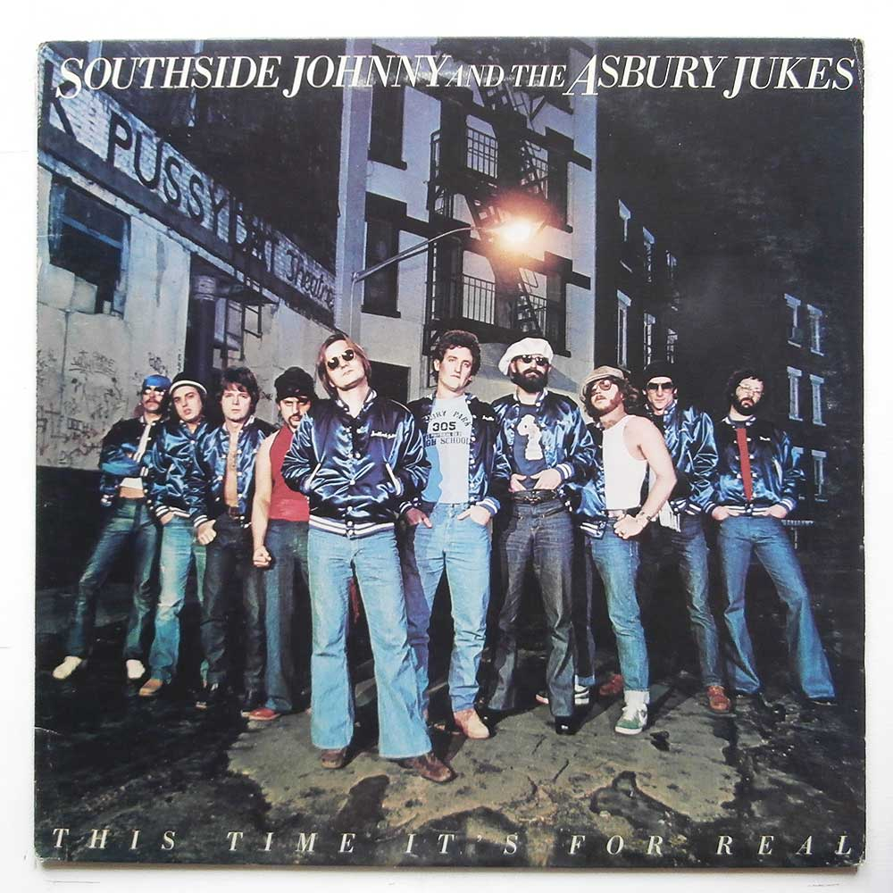 Southside Johnny and The Asbury Jukes - This Time It's For Real (PE 34668)