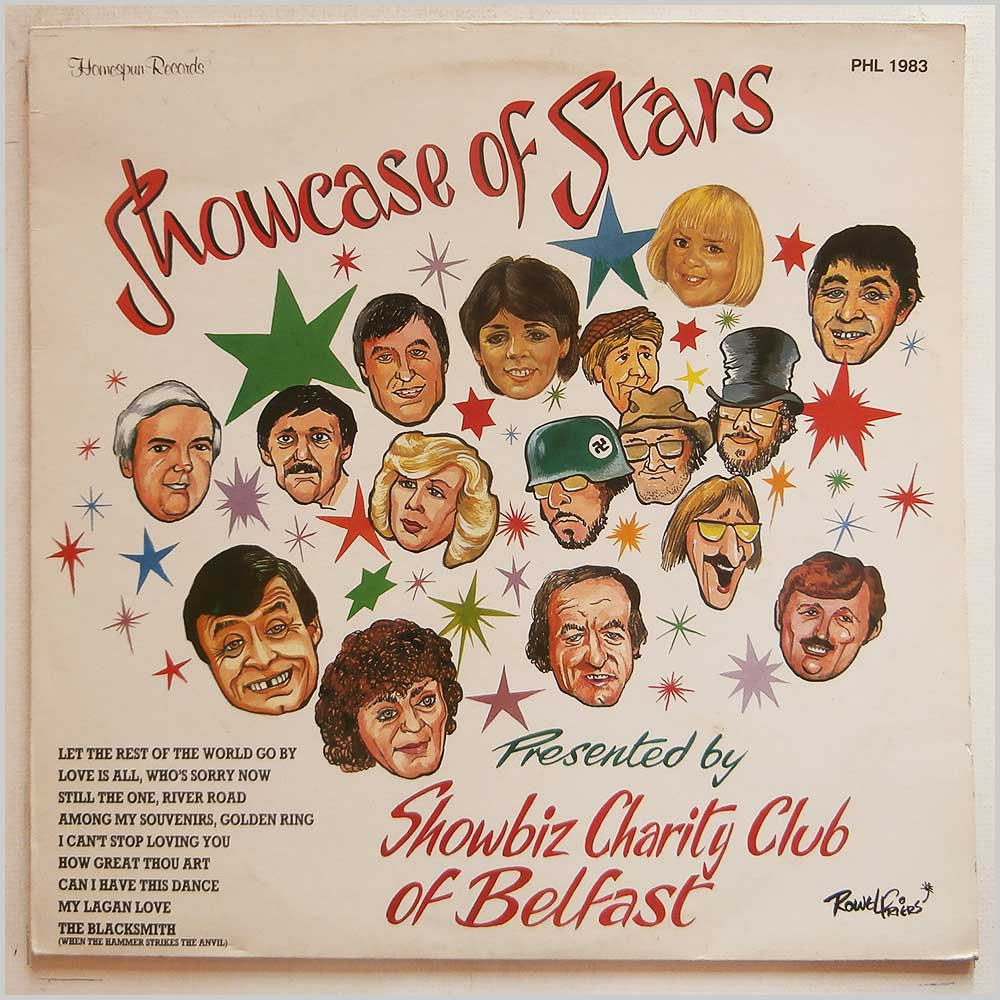 Various - Showbiz Charity Club Of Belfast Presents Showcase Of Stars (PHL 1983)