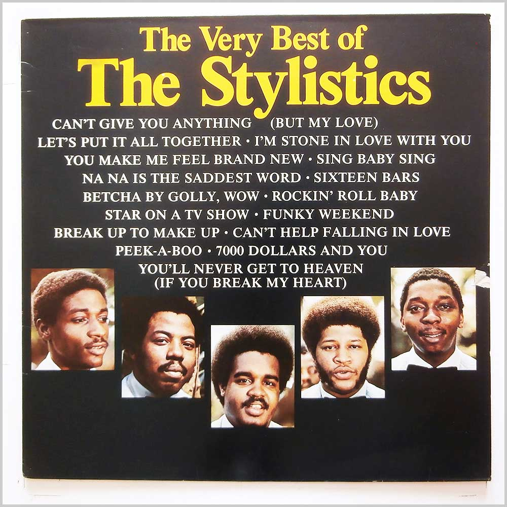 The Stylistics - The Very Best Of The Stylistics (PRICE 23)