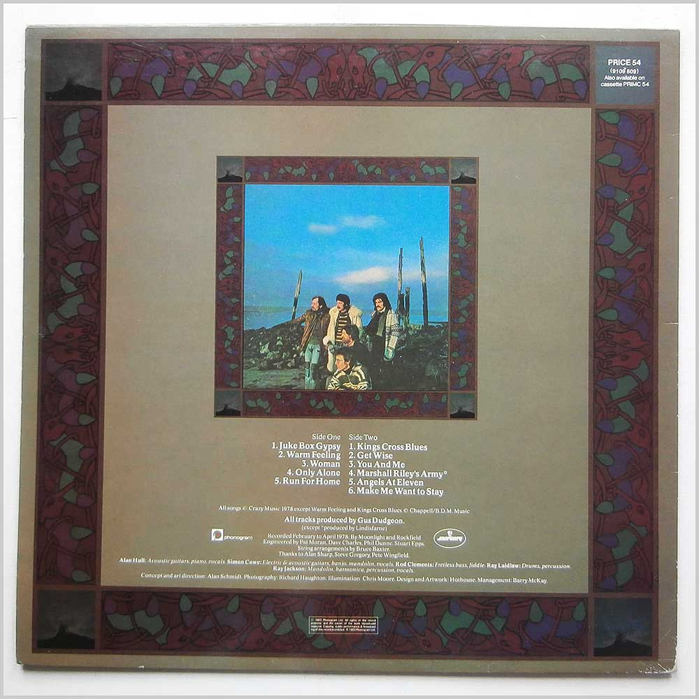 Lindisfarne - Back And Forth (PRICE 54)
