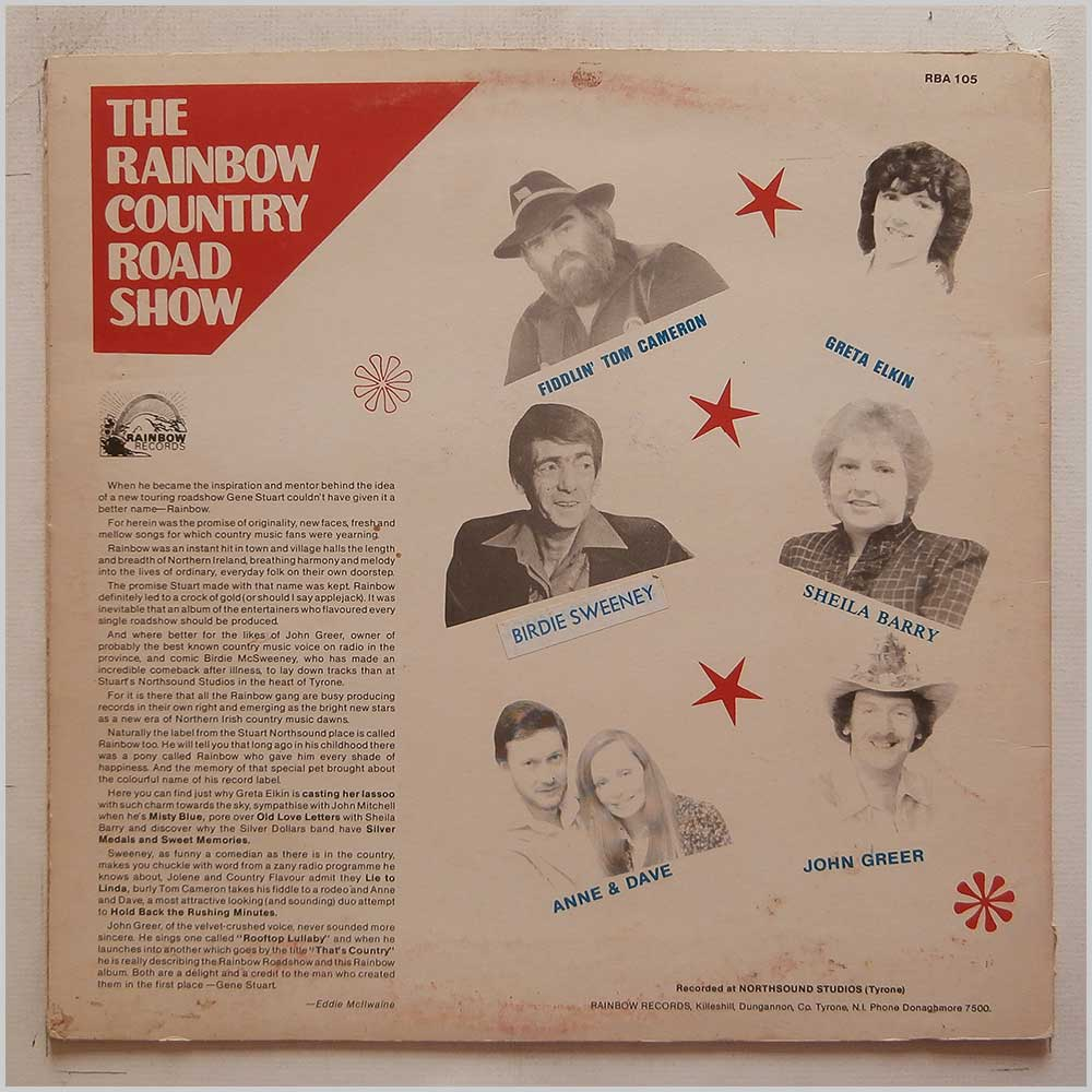 Various - The Rainbow Country Road Show (RBA 105)