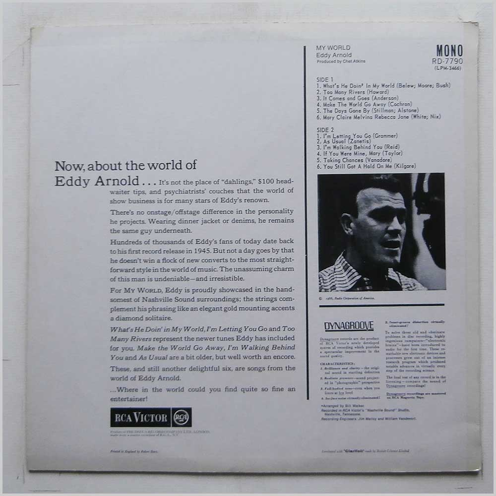 Eddy Arnold - My World (RD-7790)