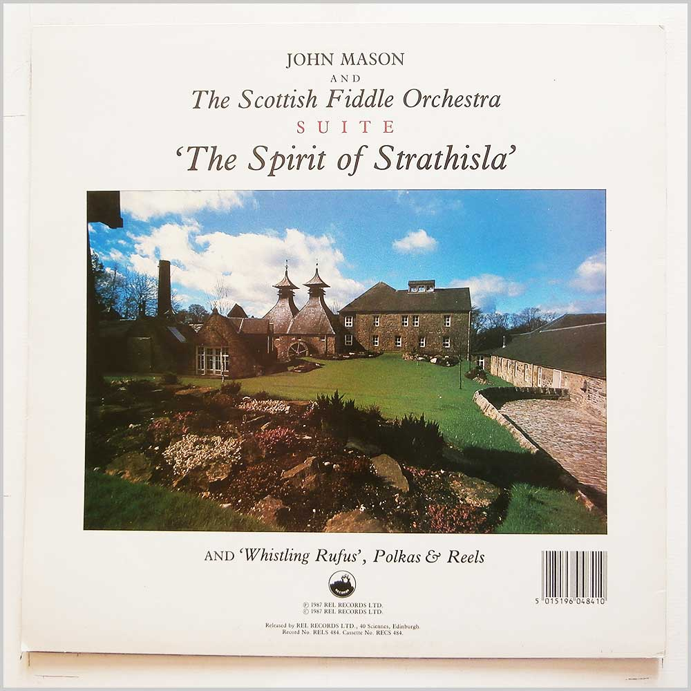 John Mason, The Scottish Fiddle Orchestra - Prince Of The Mists (RELS 484)