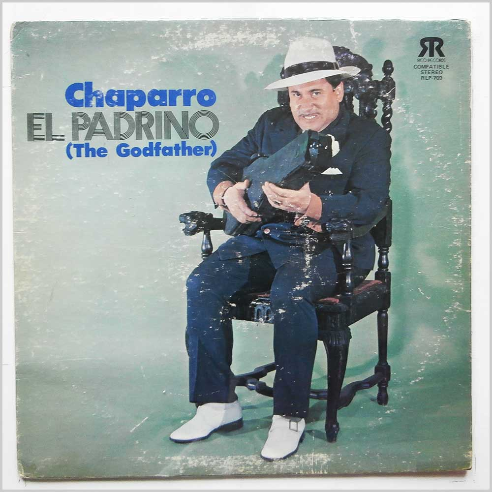 Chaparro And His All Star Band - El Padrino (The Godfather) (RLP 709)