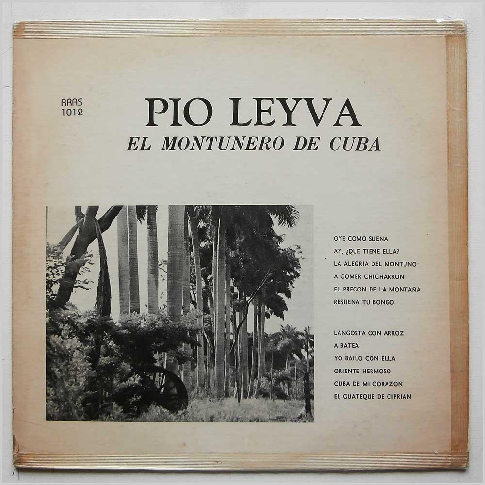 PIO LEYVA - El Montunero De Cuba - 33T