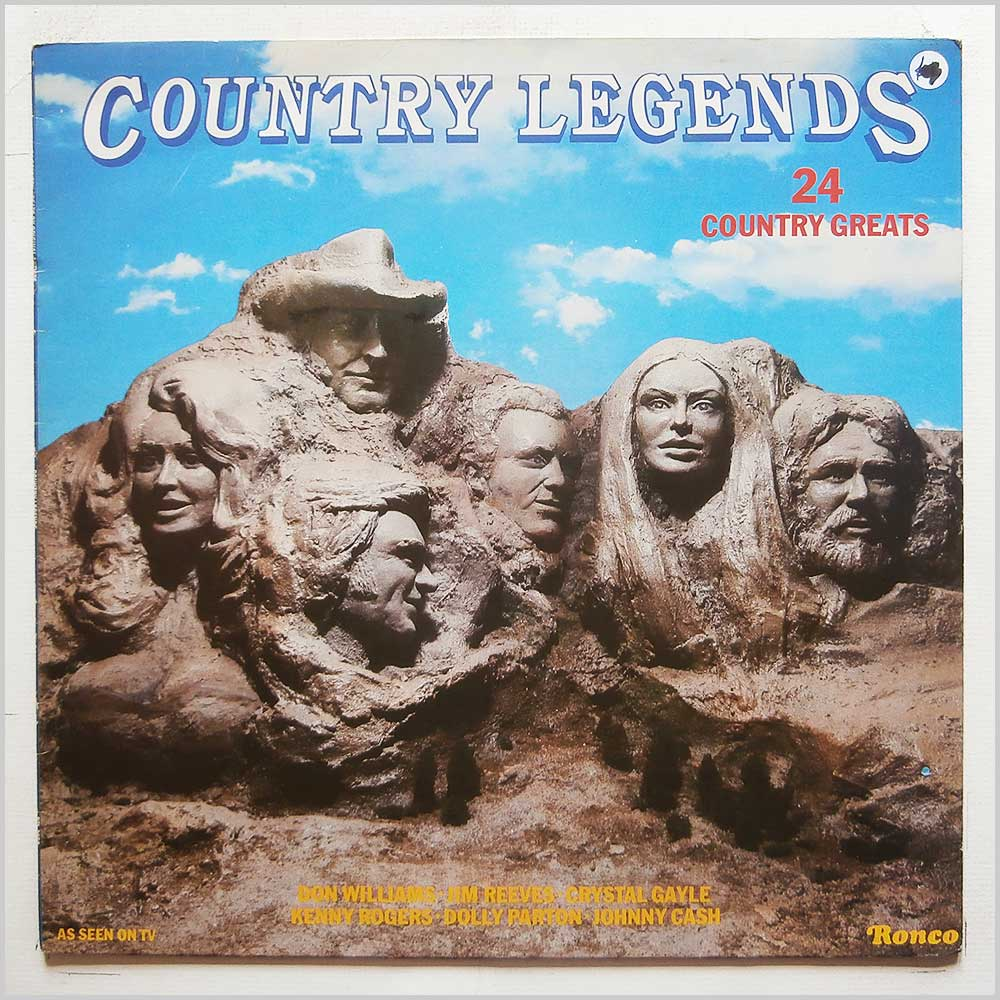 Various - Country Legends: 24 Country Greats (RTL 2050)