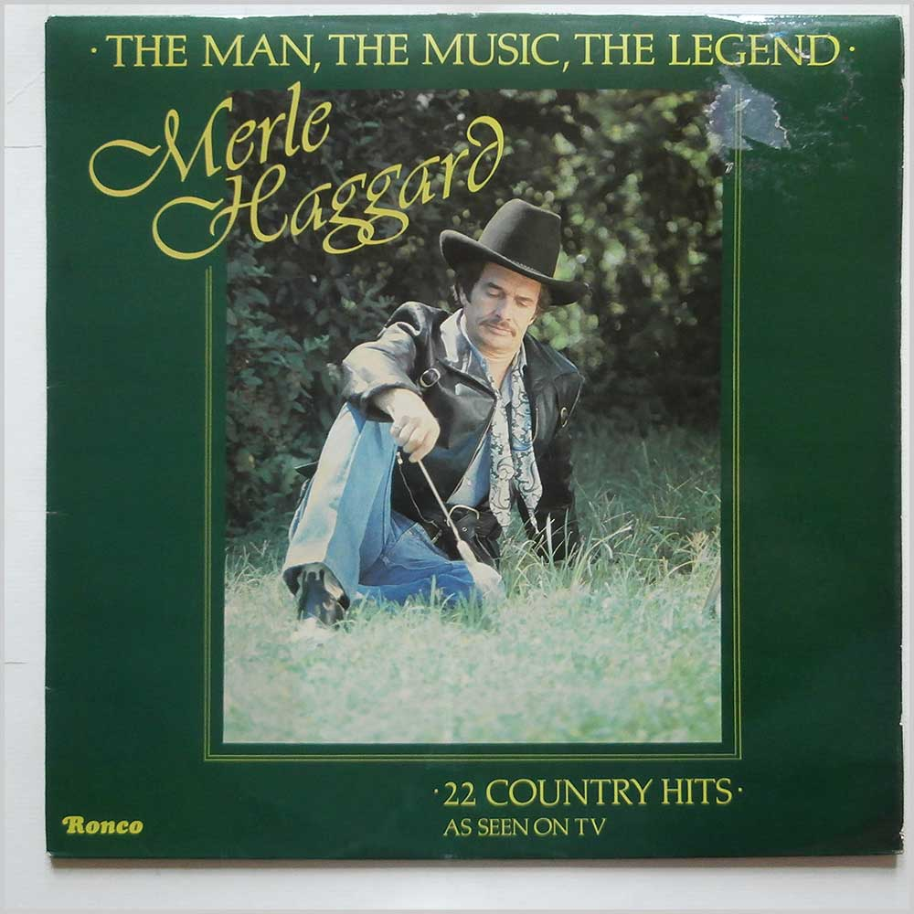 Merle Haggard - The Man, The Music, The Legend (RTL 2055)