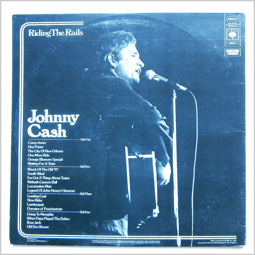 Johnny Cash - Riding The Rails (S 88153)