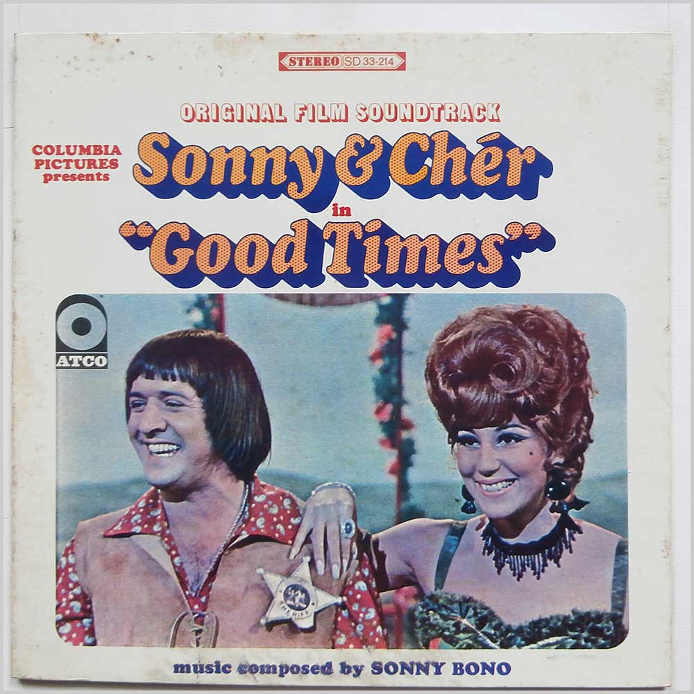 Sonny and Cher - Good Times (Original Film Soundtrack) (SD 33-214)