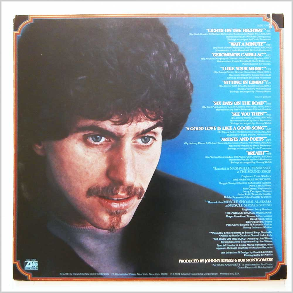 Johnny Rivers - Road (SD 7301)