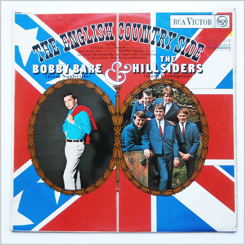 Bobby Bare and The Hillsiders - The English Country Side (SF-7918)