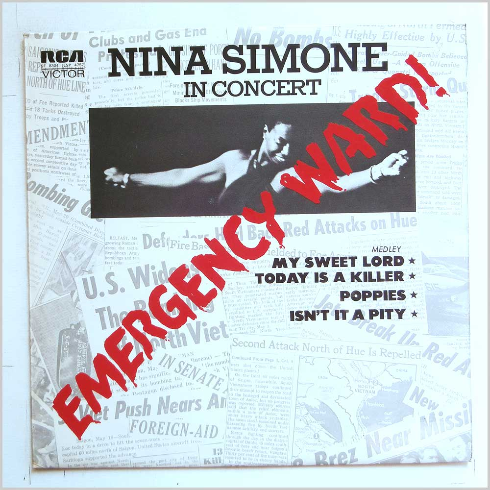 Nina Simone - Emergency Ward! Nina Simone in Concert (SF 8304)