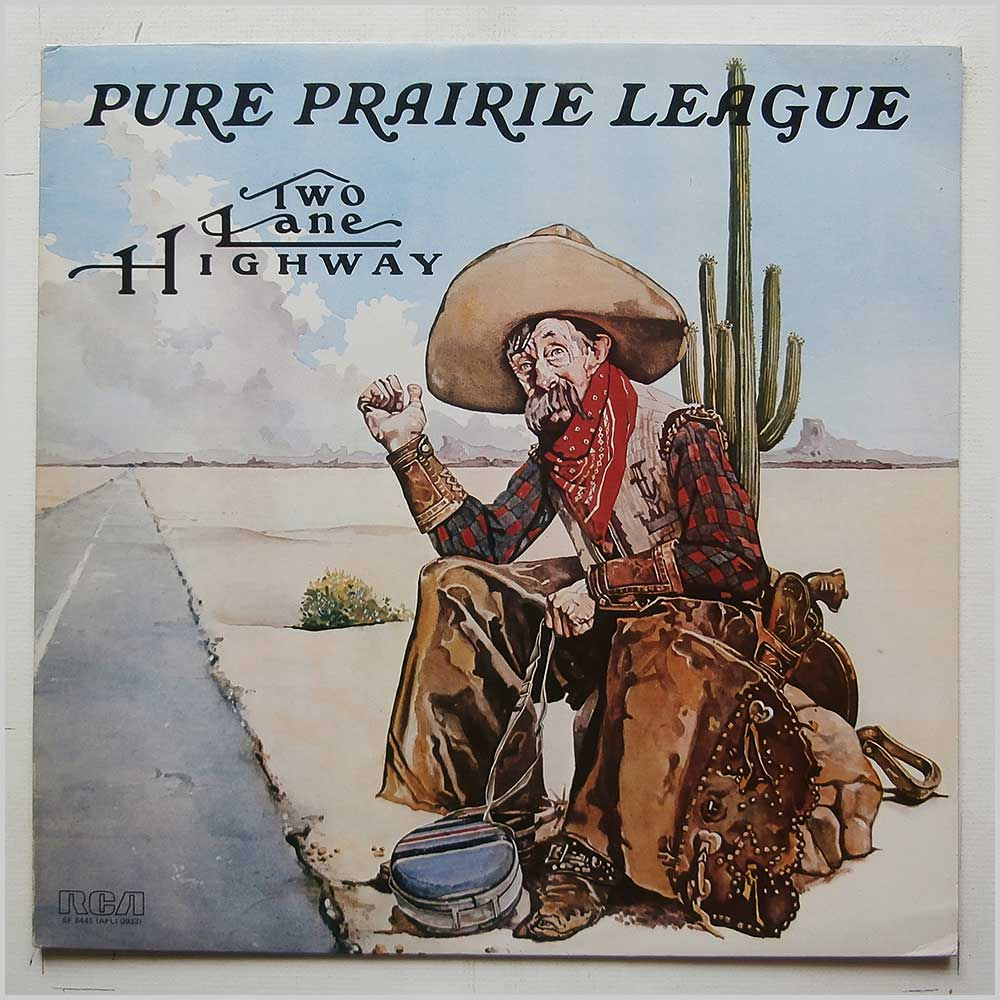 Pure Prairie League - Two Lane Highway (SF 8445)