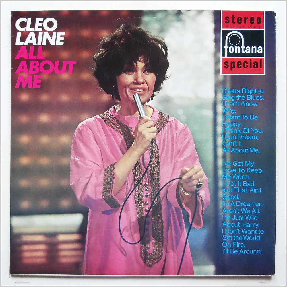 Cleo Laine - All About Me (SFL 13006 886 159 TY)