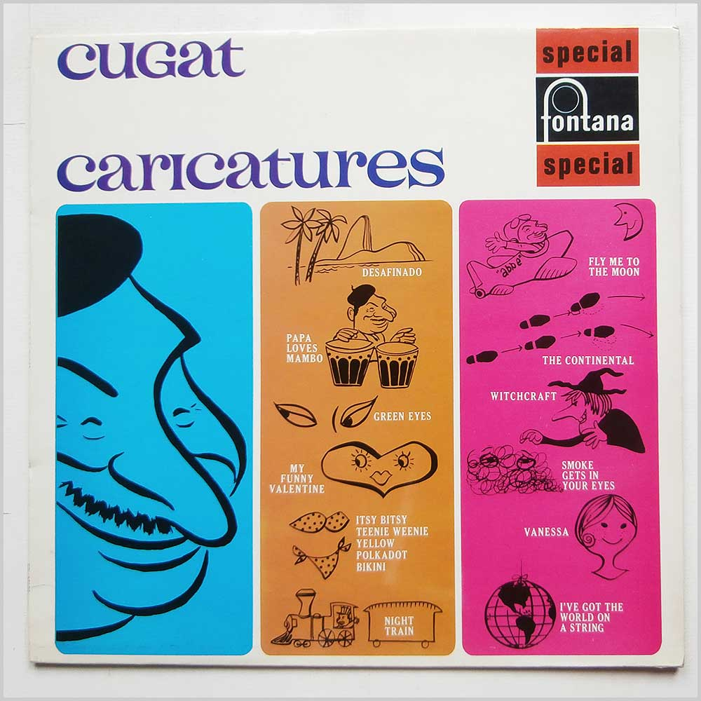 Xavier Cugat And His Orchestra - Cugat Caricatures (SFL 13156)
