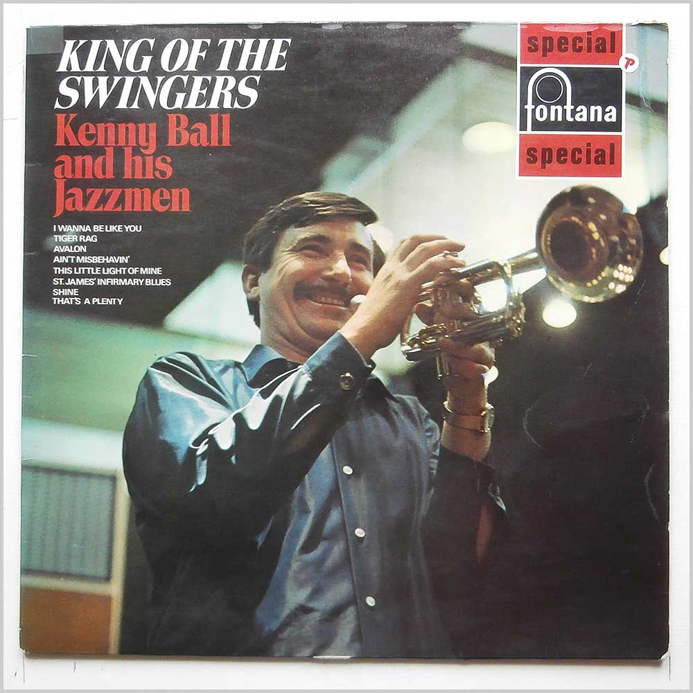 Kenny Ball And His Jazzmen - King Of The Swingers (SFL 13169)